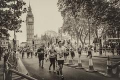 Heading for the finish Line (cuppyuppycake) Tags: uk england holiday jack nikon memorial day marathon union bank palace flags 10k runners buckingham 2016 vitality london10000 d7200