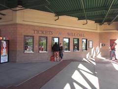 Ticket Booth at Scottsdale Stadium -- Scottsdale, AZ, March 08, 2016 (baseballoogie) Tags: arizona baseball stadium az giants scottsdale ballpark springtraining sanfranciscogiants cactusleague baseballpark scottsdalestadium 030816 canonpowershotsx30is baseball16
