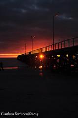 DSC_0433 (bertu89) Tags: sunset sun beach landscape photography photo nikon tramonto australia adelaide southaustralia spiaggia paesaggio 18105 2014 d5000 workingholidayvisa bertu89