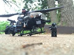 UH 15 Blackbird (Noric Warrenson) Tags: modern lego outdoor helicopter blackbird warfare noric brickarms warrenson