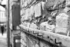 Street hangers (msiapan) Tags: street man stone village cyprus hangers lefkara μαυρόασπρο κύπροσ λεύκαρα κρεμάστρεσ