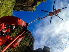 Something totally different! (strupert) Tags: rescue mountain norway seaking trndelag fosen rland rnoaf 330skv