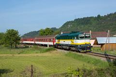 "754.055 ""Rentka"" REX 785 Hnilec (Rudynko illo) Tags: train zug slovensko slovakia rex 785 vlak 055 hron 754 renatka zeleznica nemecka hnilec"