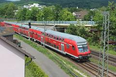 Dosto + 143-263 (Openbaar vervoer in Europa) Tags: bad honnef db br143 dosto koblenz kln rheinland rb27