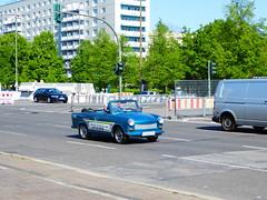 Karl Marx Allee - Berlin (Mark 2400) Tags: berlin marx karl trabant allee