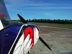 CAVOK (Antnio A. Huergo de Carvalho) Tags: sky clouds airplane shark airport aircraft aviation cu avio propeller cessna cirrus aviao hlice c152 tubaro cessna152 cavok aerocon aviaogeral pttub