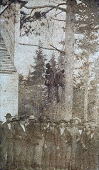 "The lynching of two ""half-breed"" Chippewa Indians in front of the Last Turn Saloon for the kidnap & murder of Helen McArthur. Brainerd, Minnesota, 1872 [1677x2882] #HistoryPorn #history #retro http://ift.tt/1TZ2bgb (Histolines) Tags: two history minnesota last turn for front retro helen murder timeline indians saloon brainerd kidnap lynching mcarthur the chippewa 1872 halfbreed vinatage historyporn histolines 1677x2882 httpifttt1tz2bgb"