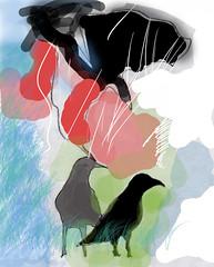 CORVOS (suzanasacchipadovano) Tags: tristeza galinha pessoas beijo banana modelo cachorro bode nuvem pssaros mos tesoura vitrine sorte abacaxi cachorrinha panela astrologia penca corvos martista sas sapatovelhopincissacomandiocadesesperodiabopssaroculosnarizdepalhao