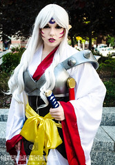 DSC_0018 (alysiasponaugle) Tags: anime photography cosplay inuyasha cosplayers animazement sesshomaru newphotographer cosplayphotography animazement2016