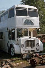 Ex Midland Lodekka VWG357 at Doune. Jun'83. (David Christie 14) Tags: flf doune lodekka alexandermidland