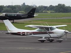 G-BAFL Cessna 182 (Aircaft @ Gloucestershire Airport By James) Tags: james airport gloucestershire cessna lloyds 182 egbj gbafl