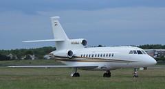 N454AJ Priester Aviation Dassault Falcon 900B,Glasgow Prestwick,23//6/16 (BS Images.) Tags: airport aircraft falcon trump prestwick pik dassault bizjet prestwickairport egpk glasgowprestwick