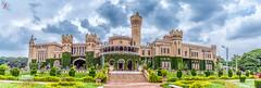 Bangalore Palace (Jamsheed Photography) Tags: bangalorepalace palace architecture heritage royal sky building stone bangalore southindia karnataka garden
