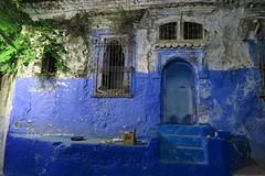 Chefchaouen. Casa abandonada. (lameato feliz) Tags: color azul casa chefchaouen marruecos