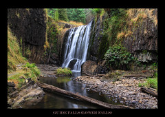 Guide Falls - Lower Falls (xxxdonny000) Tags: longexposure waterfall kingsbridge suspensionbridge borders launceston burnie chairlift cataractgorge firstbasin tamron18270mmlens westridgely guidefall