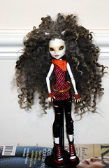 Toralei (Shunklies) Tags: fashion monster modern high doll wig custom repaint reroot faceup toralei