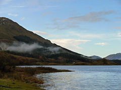 There's a kind of hush (kenny barker) Tags: autumn winter colour nature water landscape lumix scotland day argyll loch landscapeuk panasonicg1 kennybarker pwpartlycloudy