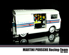 LUGNuts - FULL HOUSE (Martini Porsche) (Malte Dorowski) Tags: house playing game cards lego martini pickup racing full card porsche challenge 52 lugnuts