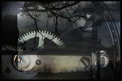 flblend3 (bob zdeb) Tags: tree clock illinois gear blended rockford