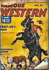 48 Famous Western Aug-1952 Includes Dangerous Widow by E. Hoffmann Price as Hamlin Daly (CthulhuWho1 (Will Hart)) Tags: fiction trooper price magazine dangerous famous hoffmann august william will cover e 1950s edgar western hart pulp aug widow hoffman 1952 daly hamlin williamhart willhart ehoffmannprice aug1952 cthulhuwho1 cthulhuwho1com ehoffmanprice hoffmannprice hoffmanprice edgarhoffmannprice edgarhoffmanntrooperprice