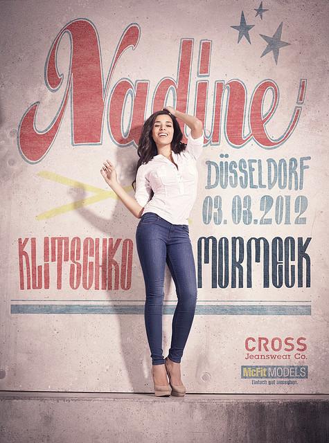 Klitschko vs. Mormeck: Ringgirl Nadine