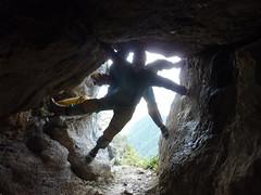 Panorama entrance, Eye in the Sky passage (Armchair Caver) Tags: caving asg bulmer mtowen caverscavescavingphotos aucklandspeleogroup mar2012