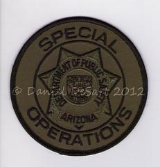 "Arizona DPS SWAT (Badge Patch) (bloo_96 ""Daniel DeSart"") Tags: arizona public police az safety special patch insignia arz department tactics swat weapons ariz dps subdued ensignia"
