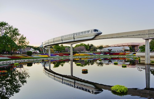 Monorail Reflected