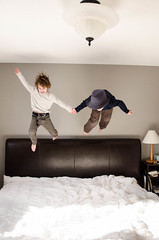 (reneejphotos) Tags: kai reece jumpingonthebed kaiandreece