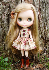 Miss Petaline's March frock