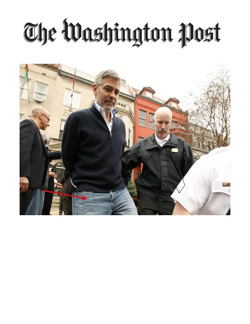 GEORGE CLOONEY The Washington Post 3/16/2012