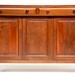 129. Solid Walnut Sideboard, Warren County, NC