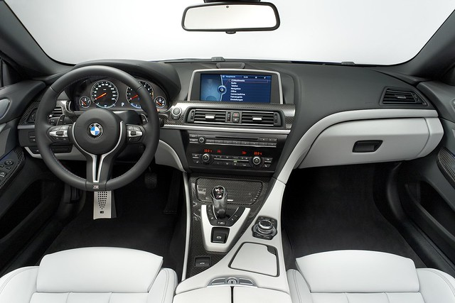 interior bmw m6 2013