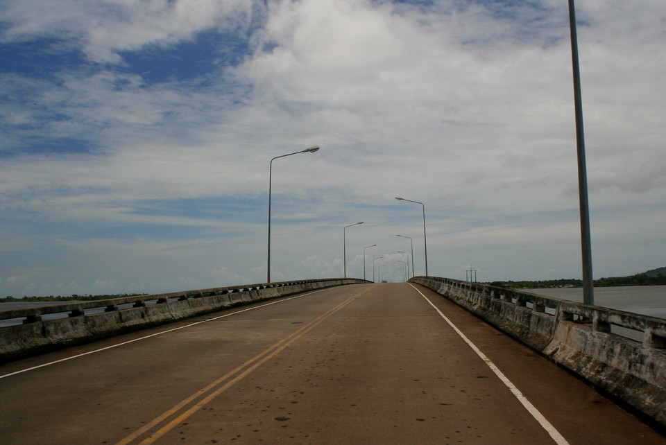 The bridge, Koh Kong, Cambodia