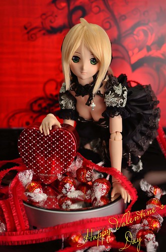 [Explore] Happy Valentine's Day with Saber Lily Dollfie
