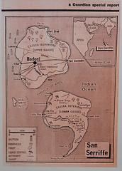 San Serriffe (nican45) Tags: london newspaper media mobilephone kingscross guardian aprilfool openweekend kingsplace htcdesires sanserriffe