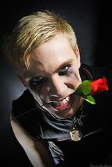The Heartbreaker (Pandora Von Lillian) Tags: boy man love smile make up rose happy pain day amor von crying makeup handsome rosa anger rage valentine blond madness valentines sonrisa chico cry mad pandora lillian hombre dolor smudged maquillaje rubio locura antuan llorar atractivo rabia llorando corrido
