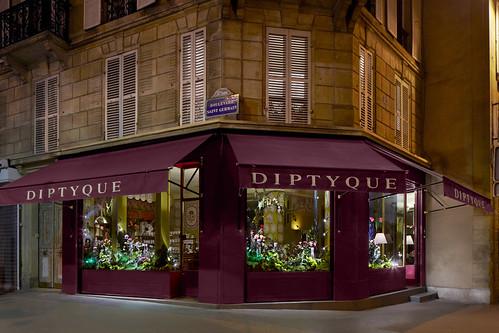 Vitrines Diptyque - Paris, janvier 2012