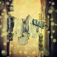 Roba estesa (iban_g_g) Tags: barcelona color colour nikon laundry bugada bovolone d5000 buttapietra mygearandme blinkagain valmorsel