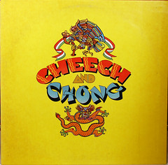 CHEECH AND CHONG (LP) (NOTIMEWARP MUSIC) Tags: records art comedy dragon eagle drawing vinyl spanish bands albums collections collecting cheechandchong wwwnotimewarpcom
