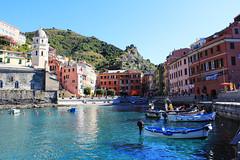 Vibrant Vernazza, Italy
