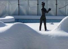 offering (gatalinkica) Tags: sculpture snow fountain beograd tamajdan