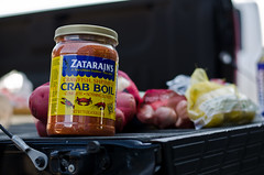 Zatarain's Crab Boil (Bladen Salomon) Tags: fish daddy 50mm prime potatoes lemon corn sausage crawfish crab lemons garlic nikkor 50 crayfish fifty boil nifty craw 18g zatarains niffty d7000