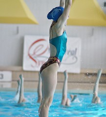 Synchronized Swimming, Nepean Synchro, Sony A55, Minolta 135mm 2.8 Lens, Montreal, 31 March 2012 (4) (proacguy1) Tags: swimming montréal montreal competition invitational 2012 synchro synchronizedswimming sonya55 minolta135mm28lens 31march2012 nepeansynchro