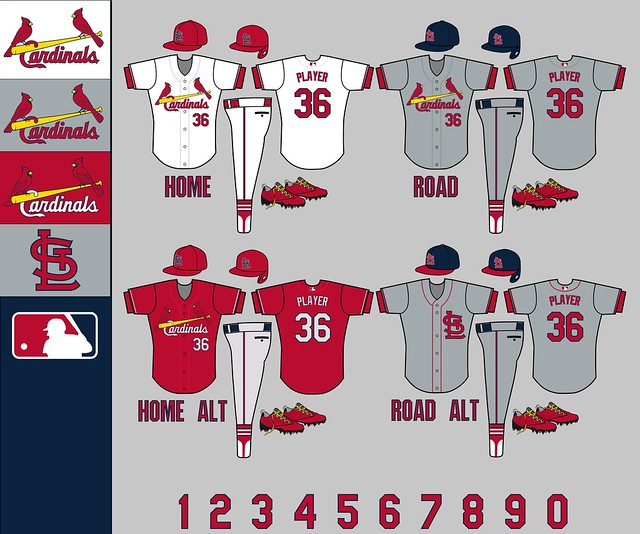 St. Louis Cardinals: Uniforms