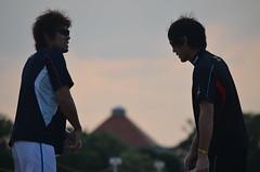 DSC_0124 (mechiko) Tags: 横浜ベイスターズ 120209 荒波翔 嶋村一輝 横浜denaベイスターズ 2012春季キャンプ