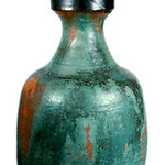 "<b>Untitled (Large Green Clay Vase)</b><br/> Frans Wildenhain (1905-1980) ""Untitled (Large Green Clay Vase)"" Stoneware, n.d. LFAC#: 508<a href=""http://farm8.static.flickr.com/7210/6899836912_11186a97eb_o.jpg"" title=""High res"">∝</a>"
