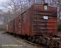 Rust on the Rails (scottnj) Tags: railroad cars abandoned train rust tracks rusty trains crusty pinecreekrailroad scottnj scottodonnellphotography