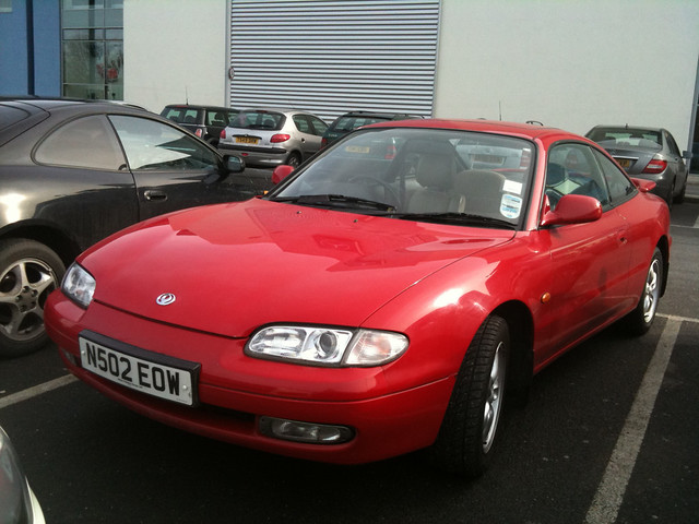 old car nice 1996 surrey parked gt mazda rare mx6 25i n502eow