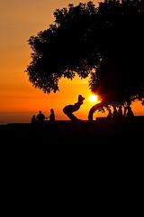 Enjoying the Sunset, Miraflores